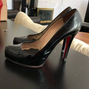 Christian Louboutin Rolando 120mm Black patent